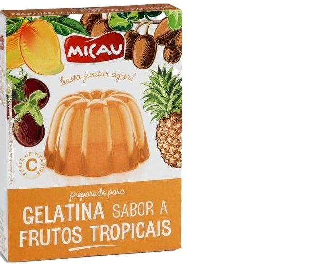 Tropical Fruits Jelly